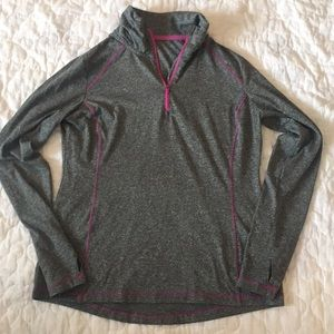 Tops - Grey Workout Pullover